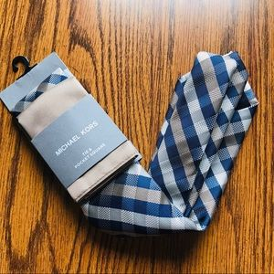 MICHAEL KORS Men's Tie & Pocket Square